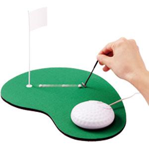 本日コンペ開催 ゴルフマウスセット画像
