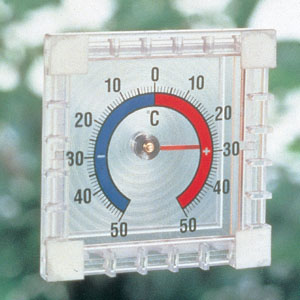 ドイツ製 窓から見える外気温計画像