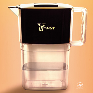 バナジウム整水器 V-POT画像