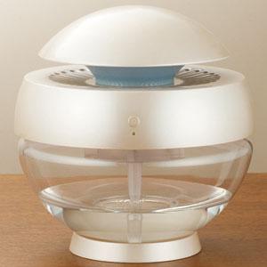 水の力でキレイにする空気洗浄機「アロボ」