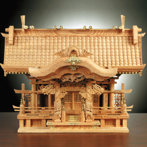 神木「千寿屋久杉神棚」2尺5寸画像
