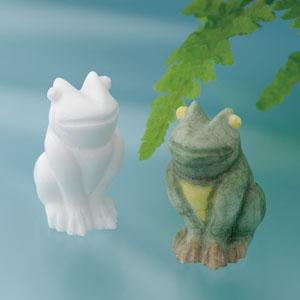 幸運を呼ぶ2匹の蛙画像