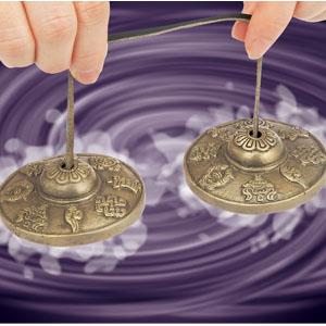 心身を癒す共鳴音「瞑想ティンシャー」画像
