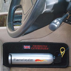 英国製車載用消火剤 ファイヤーマスター画像
