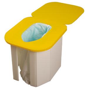 組立て簡単 レスキュートイレ(2個組)画像