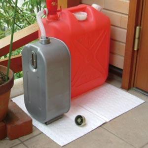 ピグ(R)水に浮く油吸収マット(5枚組)画像