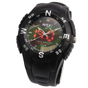 自衛隊採用LED時計「GSDFマスター」画像